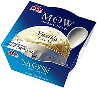 森永乳業 森永乳業 MOW バニラ 140ml×18個 【冷凍】(1ケース)