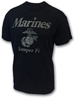 Armed Forces Gear Men's Marines Reflective PT T-Shirt