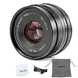 7Artisans 50mm F1.8APS-C Manuel Fixe Objectif pour Sony E-Mount APS-C Appareil Photo sans Miroir comme Sony...