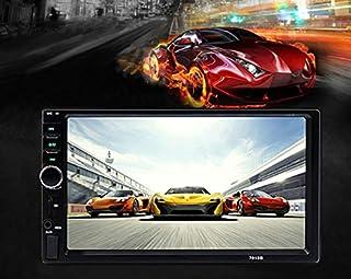 "7"" Double HD Car Radio Stereo In-Dash+Camera MP5 Player 2 Din Bluetooth FM 7018B photo"