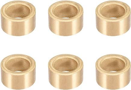 uxcell Bearing Sleeve 14mm Bore x 20mm OD x 25mm Length Self-Lubricating Sintered Bronze Bushings