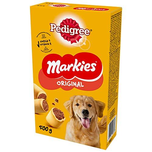 Pedigree Markies Snack per Cane 500 g - Confezione da 12 Pezzi