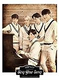 SHINee Sing Your Song (SINGLE+DVD)(F.LTD)(Japan Version)[+SHINee autograph photo][+SHINee poster][+SHINee transparent plastic card][+SHINee pop-up sticker][+SHINee postcard][+SHINee sticker]