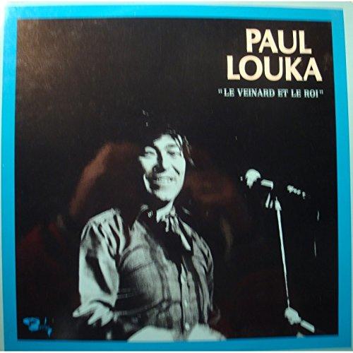 PAUL LOUKA le veinard et le roi LP 1976 Barclay - les martiens NM++