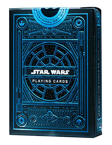 MJM Star Wars Light Side (Azul) Juego de Cartas por theory11