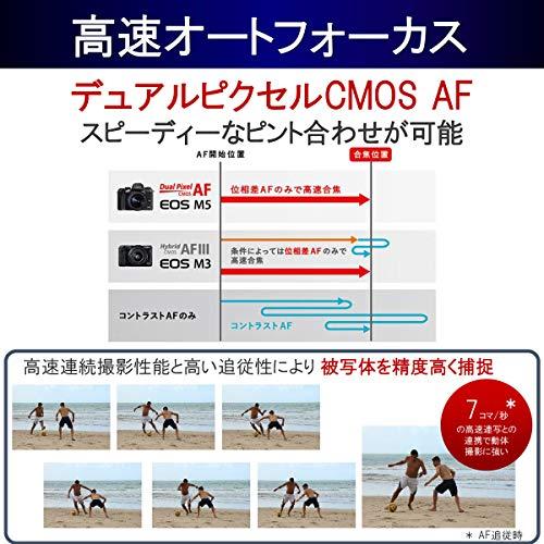 Canon(キヤノン)『ミラーレス一眼カメラEOSM5』