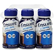 Ensure Shake, Creamy Milk Chocolate (6 Count, 8 Fl Oz Each)