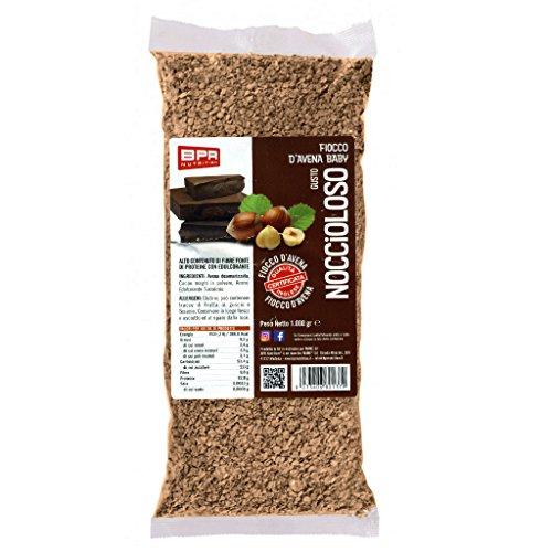 Bpr Nutrition Fiocco D'Avena Aromatizzato Noccioloso - 1 Kg
