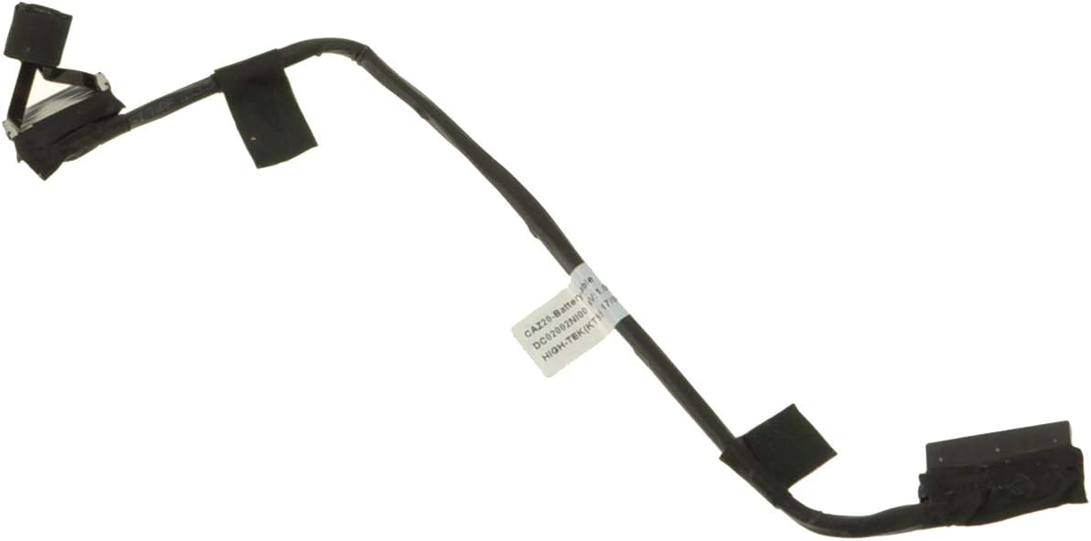 OUWEE CAZ20 Laptop Battery Cable Compatible with Dell Latitude 7480 7490 E7480 E7490 Series Notebook Battery Wire Cord 7XC87 07XC87 DC02002NI00