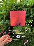 Personalized Acrylic Song | Acrylic Album Cover | Transparent Song | Wide 8'x...