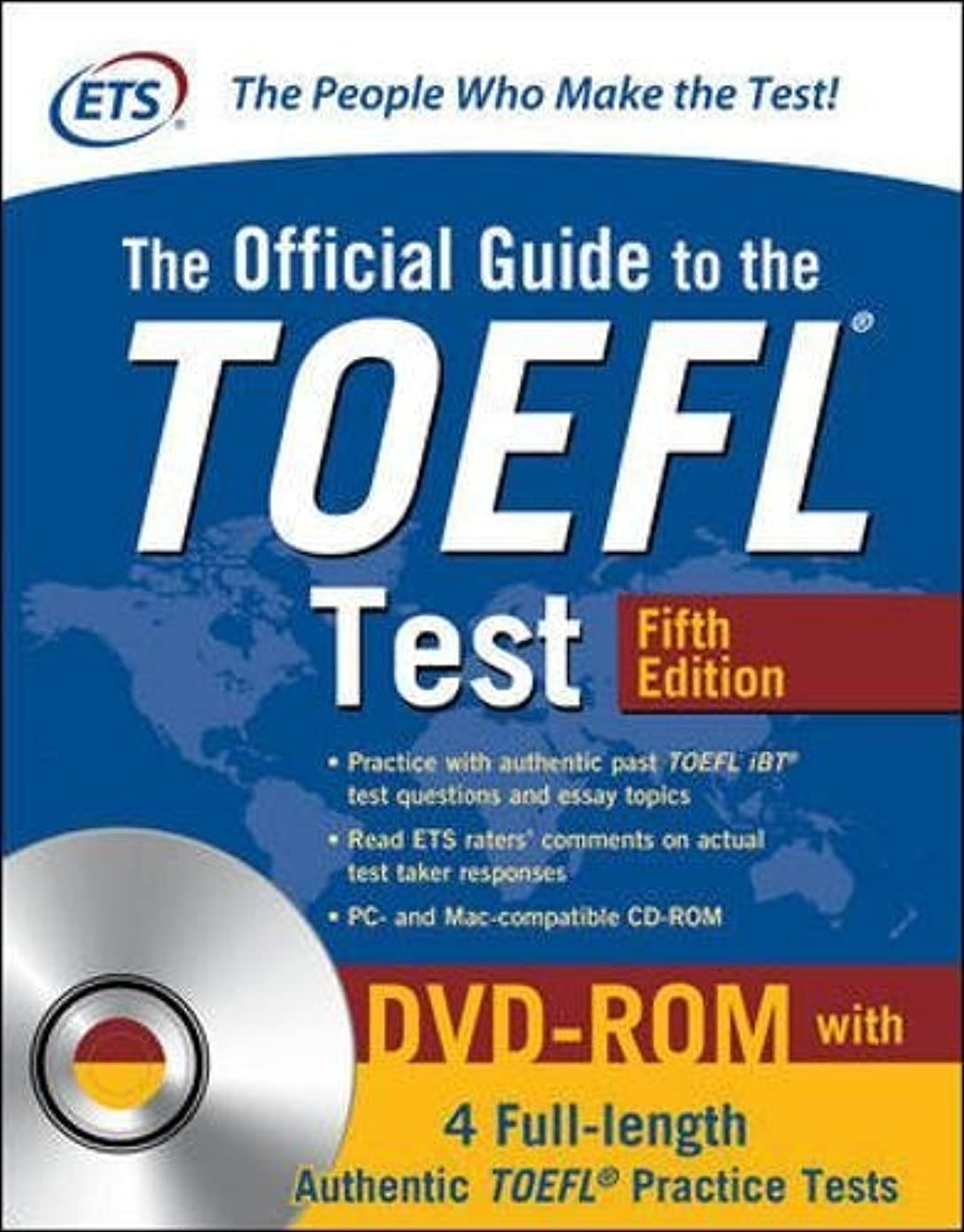 追い出すお互いありがたいThe Official Guide to the TOEFL Test with DVD-ROM, Fifth Edition