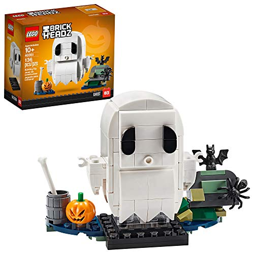 LEGO BrickHeadz Halloween Ghost 40351 Building Kit, New 2020 (136 Pieces)