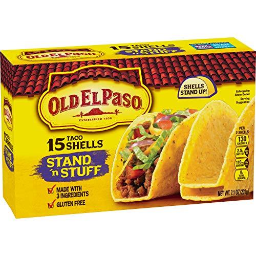 Old El Paso Stand 'N Stuff Shells, Gluten Free, 15 ct, 7.1 oz