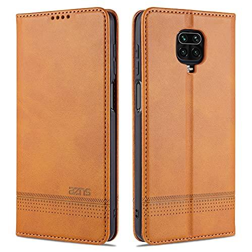 Cubierta protectora Para Xiaomi Redmi Note9s Funda de teléfono móvil, protector de billetera de cuero para parachoques, funda de soporte TPU, funda de ranura para tarjeta para Xiaomi Redmi Note9s