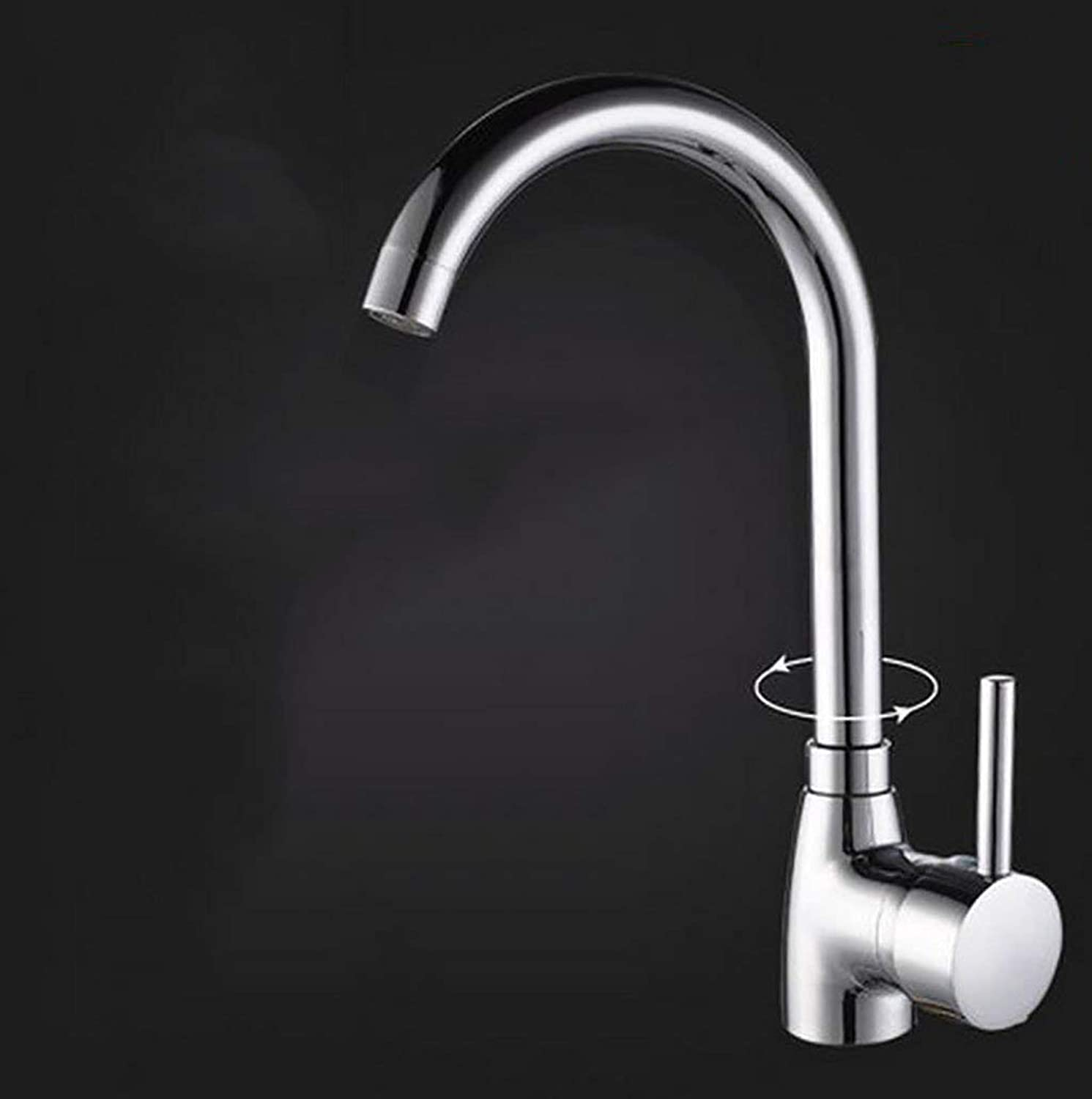 DYR Faucet Kitchen Faucets, Can Turn the Faucet, Spleen Faucet (color  1 )