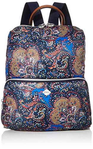 Oilily Damen Picnic Backpack Mvz Rucksack Blau (nightblue)