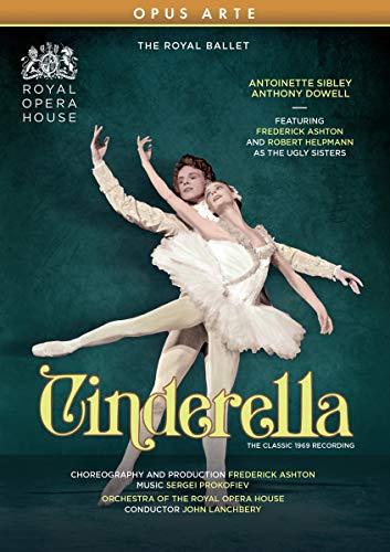 Prokofiev: Cinderella [Antoinette Sibley; Anthony Dowell; Frederick Ashton; Royal Opera House; Frederick Ashton (Director and Choreographer); John Lanchbery] [Opus Arte: OA1333D] [DVD] [2021]