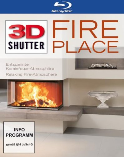Fireplace 3D [Blu-ray]