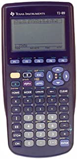 Texas Instruments TI-89 Advanced Graphing Calculator (Renewed)
