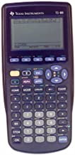 $89 » Texas Instruments TI-89 Advanced Graphing Calculator (Renewed)