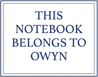 This Notebook Belongs to Owyn