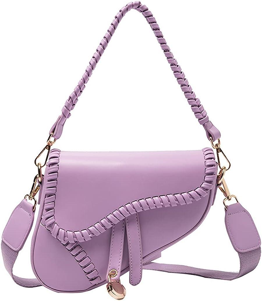 Women Trendy Saddle Shoulder Bag Underarm 25% OFF Handbag Max 54% OFF Clutch S Purse