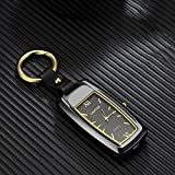 GHF Watch Lighter Keychain Lighter Small Flashlight Lighter Multi-Function USB Charging Windproof Cigarette Electronic lighters,Black