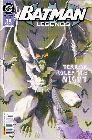 Comic Magazine Dc Collectors Edition Batman Legends Face Your Fear august...