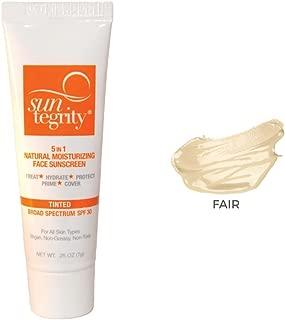 SAMPLE TUBE - Suntegrity 5 in 1 Tinted Face Sunscreen (Fair)