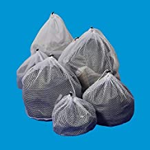 Drawstring Laundry Bag Washing Machine Special Laundry Net Bag Household Cleaning Washing Machine Mesh Holder Bags (Color ...