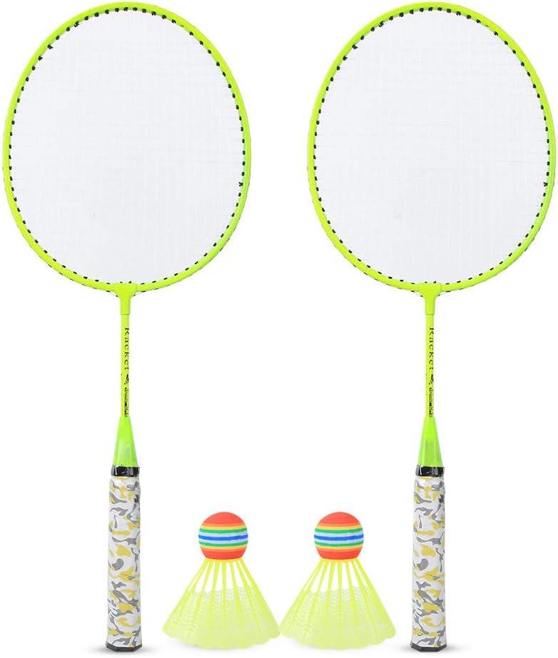 discount mart FastUU Badminton Racket Game Lightweig Sports Set