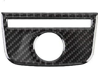 Car Decoration Car Carbon Fiber Rear Air Outlet Decorative Panel Compatible with Audi A3, Carbon Fiber Style Car Interior