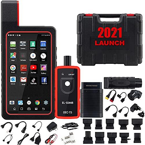 2021 Elite Ver. LAUNCH X431 Diagun V Bi-Directional Scan Tool Full System Scanner,ECU Coding,Key...