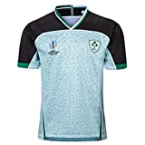 LQLD 2019 Uniformes Rugby Coupe du Monde au Japon, l'Irlande et à l'extérieur Uniformes Accueil Rugby, Maillots pour Hommes, Uniformes entraînement de Football,Away,L