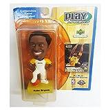 2001 Playmakers Upper Deck NBA All Star Kobe Bryant Bobblehead w/ Card