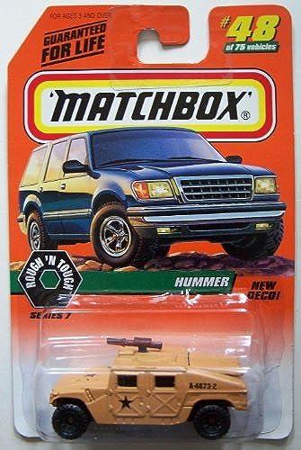 1998 Matchbox  48 Hummer Military Edition by Matchbox