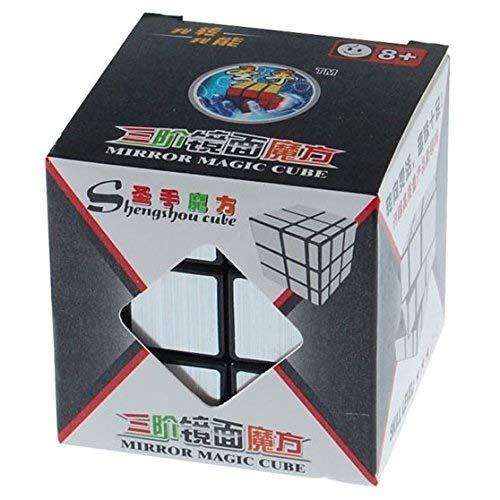 ShengShou Brushed Silver Mirror Magic Cube