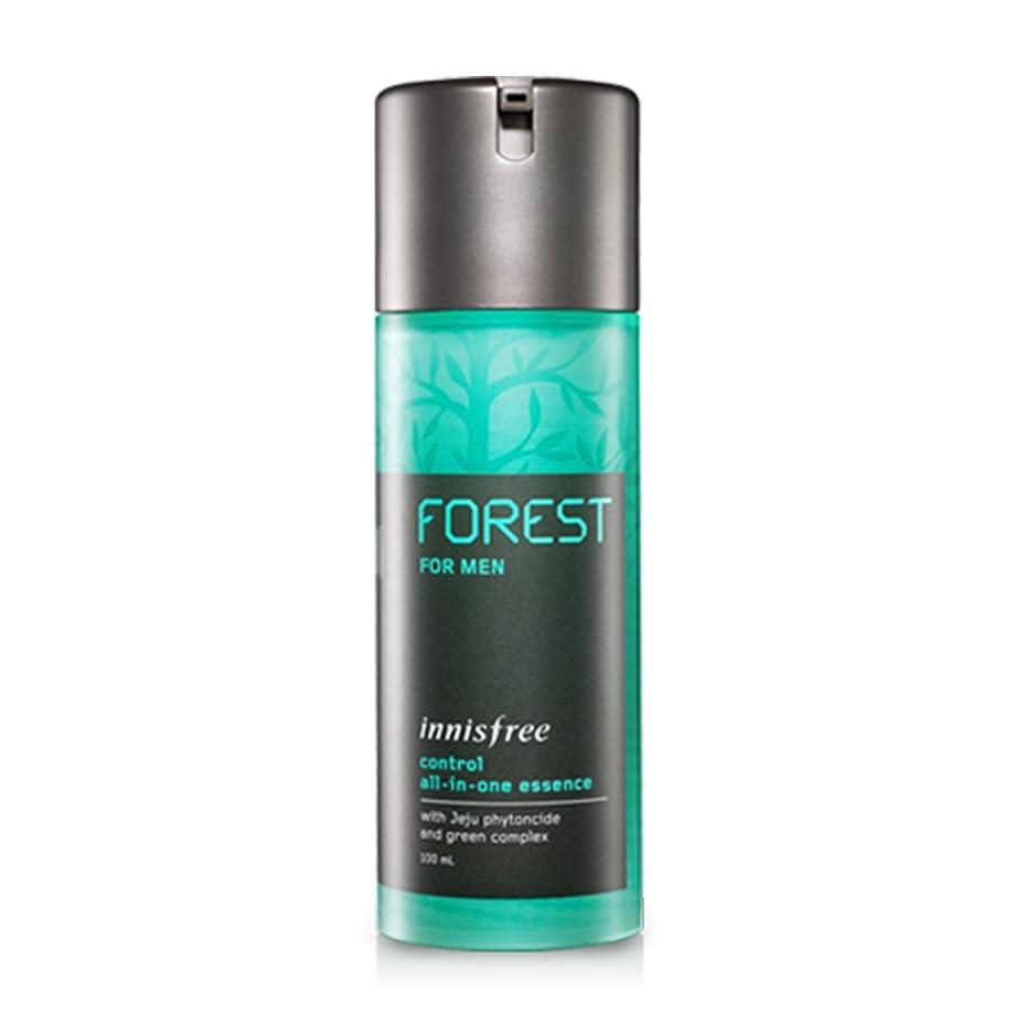 スクレーパー関係足音【innisfree/イニスフリー] Forest For Men control ALL IN ONE Essence/フォレストメンコントロールオールインワンエッセンス100ml(海外直送品)