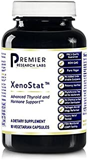 XenoStat Botanical 180 VCaps / 2 Bottles by Premier/Quantum Research Labs Thyroid and Hormone Support