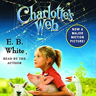 Charlotte's Web                   Written by:                                                                                                                                 E.B. White                               Narrated by:                                                                                                                                 E.B. White,                                                                                        George Plimpton                      Length: 3 hrs and 34 mins     18 ratings     Overall 4.9