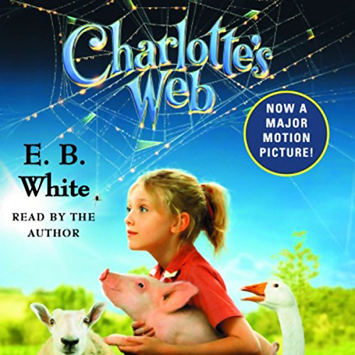 Charlotte's Web audiobook cover art
