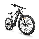 Ebike Mountainbike 27,5 Zoll, Elektrofahrrad BAFANG 250W Doppelscheibenbremsen 8 Gang Acera Kette