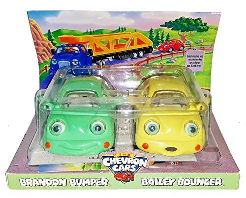 Collectible CHEVRON Cars Babies Brandon Bumper&Bailey Bouncer