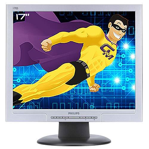 Philips Flachbildschirm 17 Zoll LCD TFT TN 170S8FS HNS8170T VGA DVI-D 1280 x 1024 VESA grau