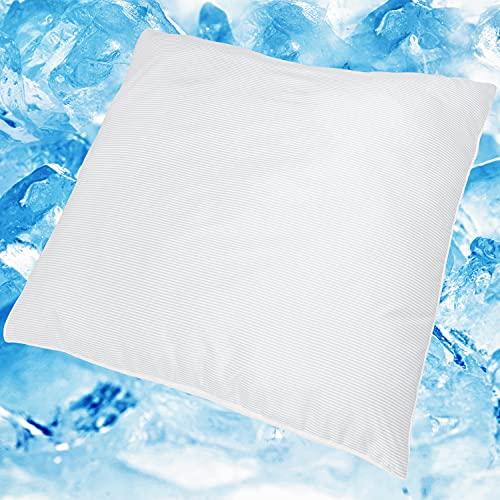 DILUMA | Kopfkissen Top Cool 80x80 cm | Kühlendes Kissen | Wendbares Schlafkissen mit Sommer und Winter Seite