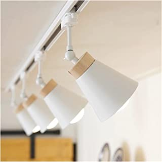 Ceiling Light LED مسار ضوء مع e27 الأضواء السكك الحديدية مصباح تتبع الصمام لاعبا اساسيا أضواء بقعة لمبة تركيبات لبيع الملا...