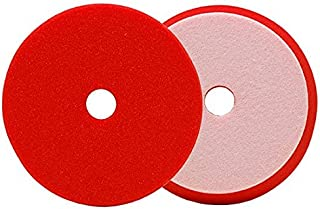 Buff and Shine 6 inch Uro-Cell Red Finishing Pad