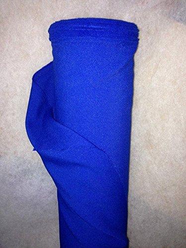 generique - creadetex.com Tissus BURLINGTON infroissable BLEU ROI nappe habillement au 0.50 metre largeur 150 cm