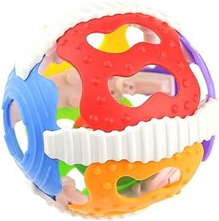 Topker Baby Sonajero Juguetes Little Loud Bell Ball Toy Reci