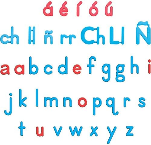 Max 89% OFF Really Good Stuff lowest price Spanish Letters Magnetic Plastic